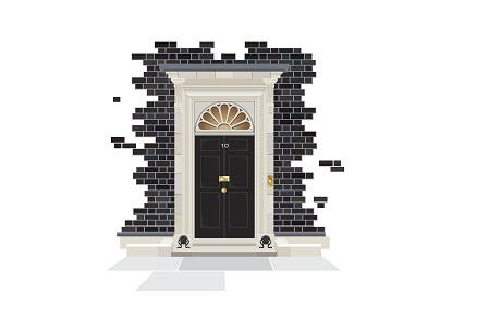 No 10 Downing street graphic